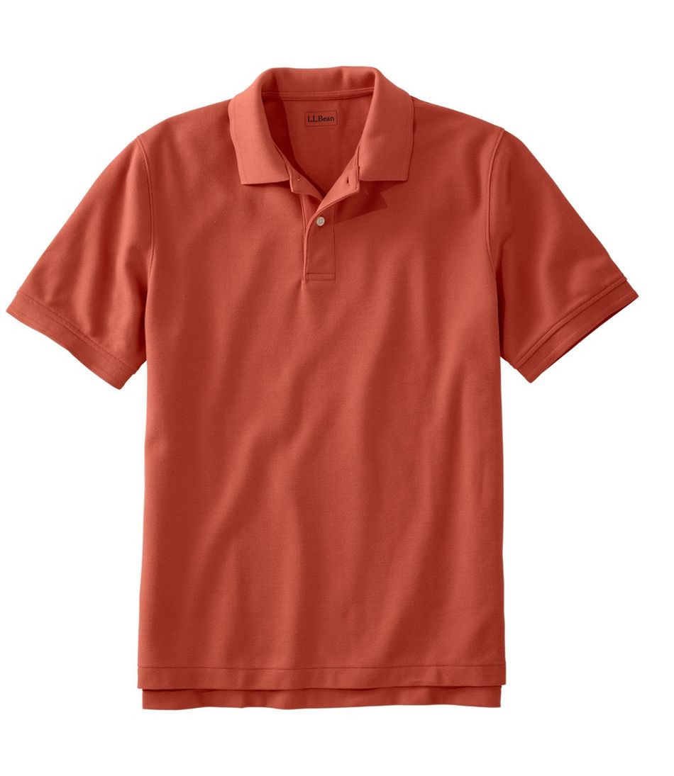 Mens Premium Double L Polo Banded Short Sleeve Without Pocket