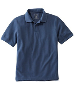 Men's Premium Double L Polo Banded, Short-Sleeve Without Pocket