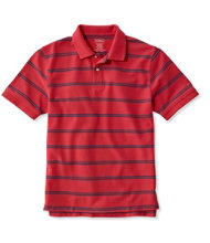 Premium Double L Polo, Banded Short-Sleeve Without Pocket Stripe