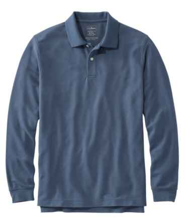 Premium Double L® Polo, Long-Sleeve Without Pocket