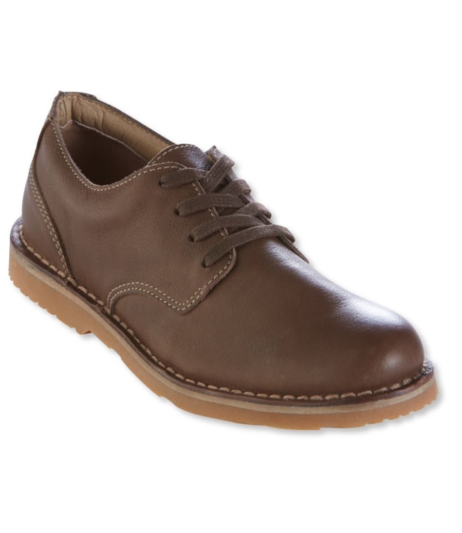 Men's Kennebec Casual Four-Eye Shoes, Leather