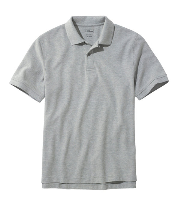 Premium Double L Polo, Light Gray Heather, large image number 0