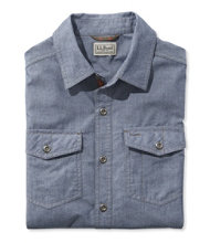 Perimeter Performance Chambray Shirt, Long-Sleeve