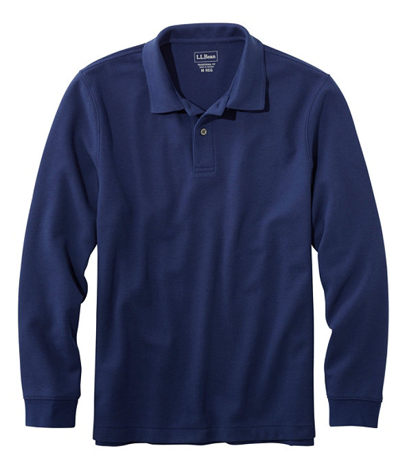 Premium Long-Sleeve Double L Polo, , large image number 0