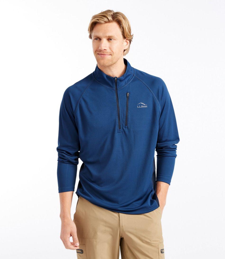 Ridge Runner Quarter-Zip, Long-Sleeve Colorblock