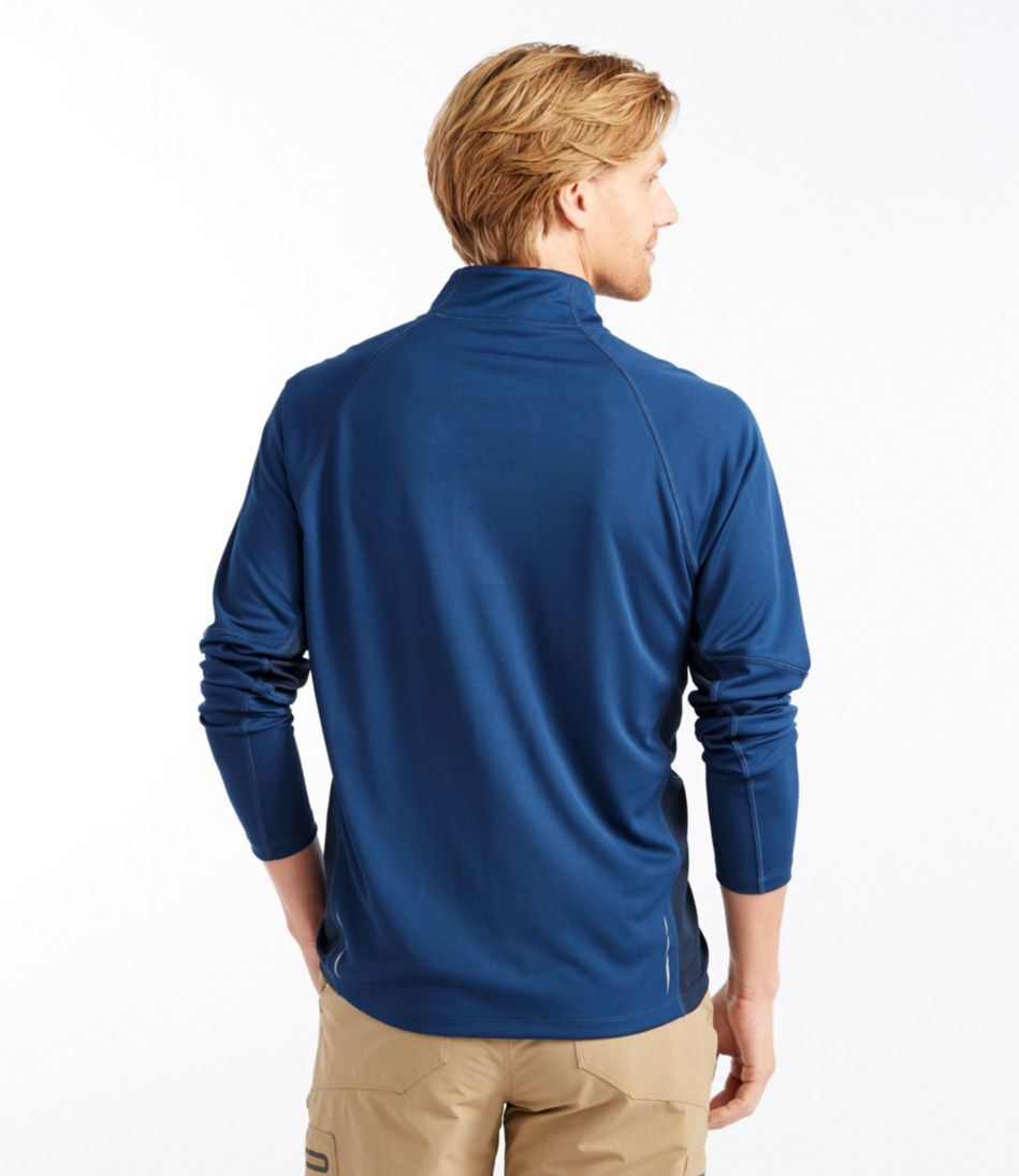 Ridge Runner Quarter-Zip, Long-Sleeve Colorblock