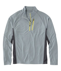 Men's Ridge Runner Quarter-Zip, Long-Sleeve Colorblock