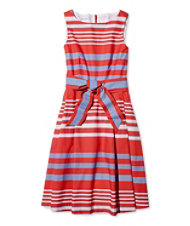 The Signature Poplin Dress, Stripe