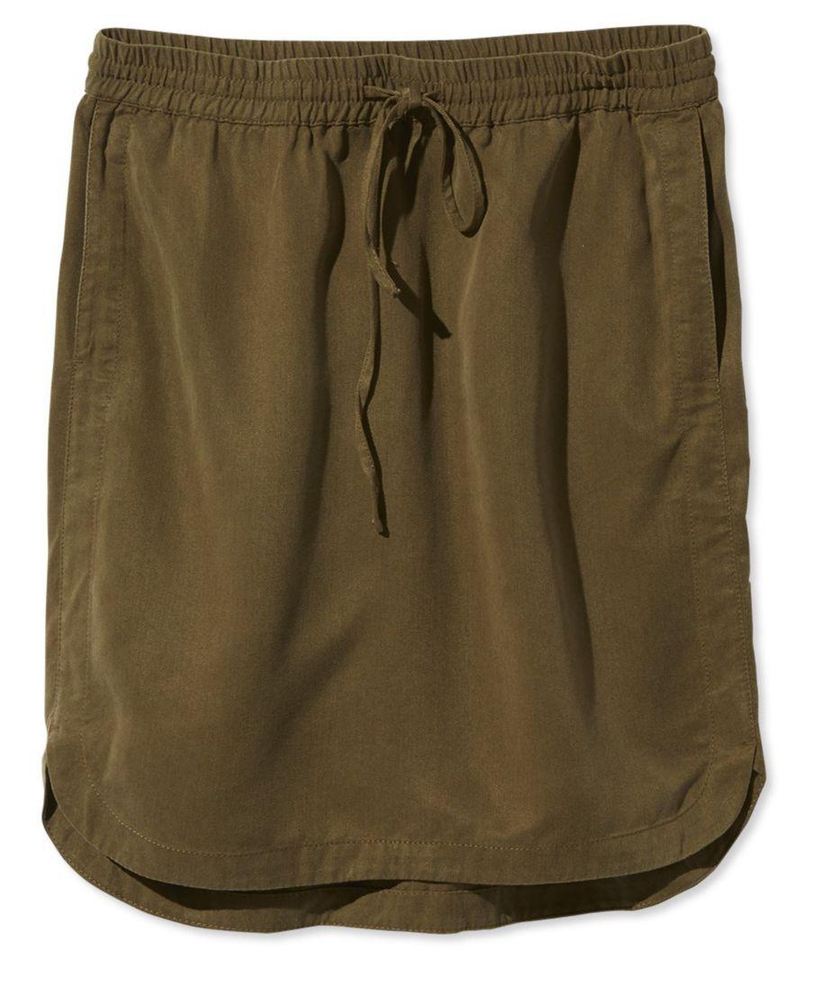 Signature Tencel Skirt
