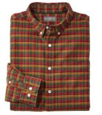 Men's Signature Washed Oxford Cloth Shirt, Plaid