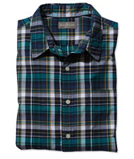 Men's Signature Washed Poplin Shirt, Plaid