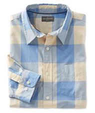 Signature Washed Poplin Shirt, Plaid