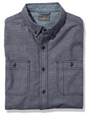 Signature Indigo Sport Shirt, Chambray