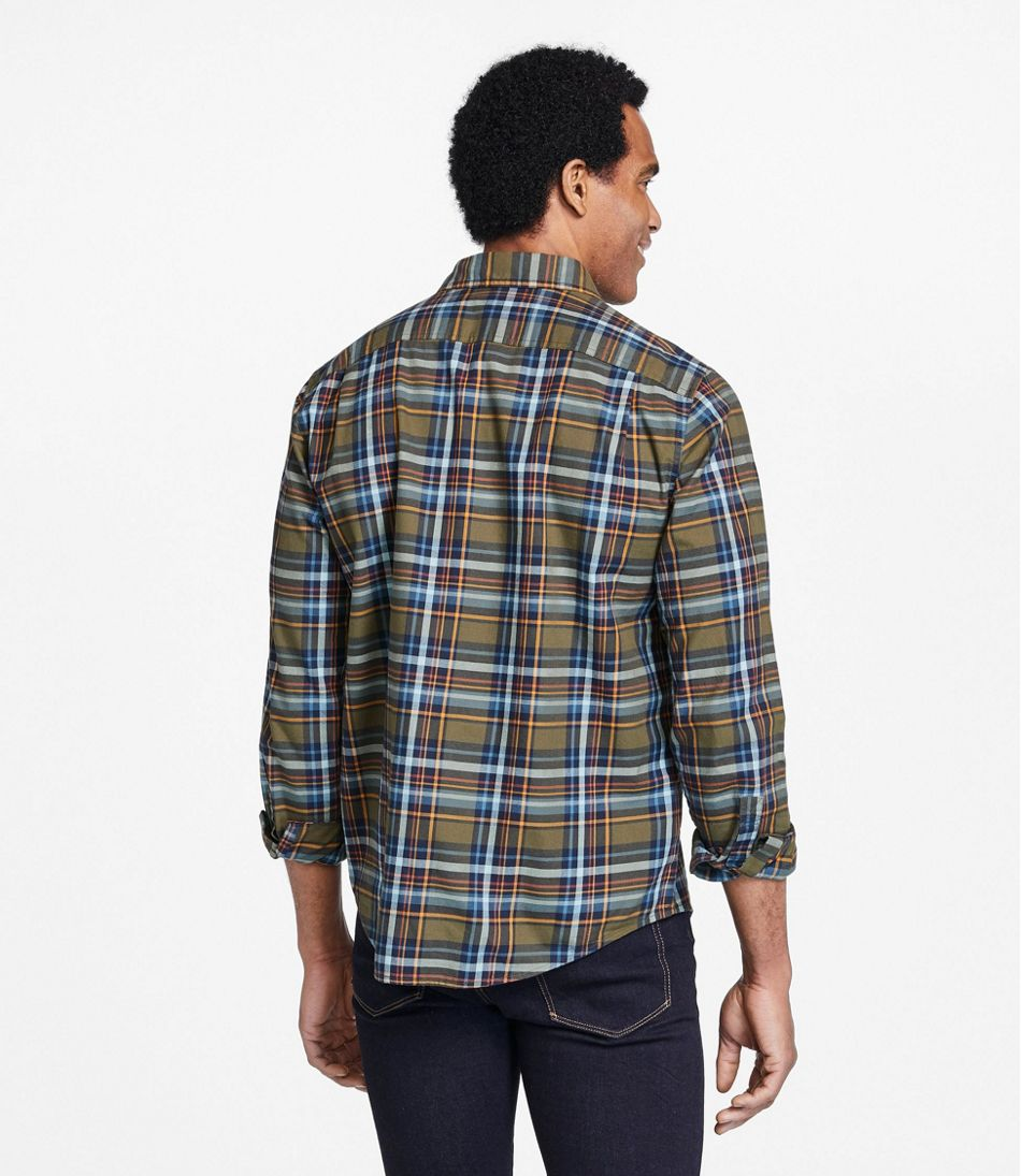 Men's Signature Castine Flannel Shirt, Plaid