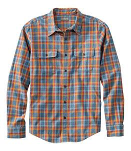 Men's Signature Castine Flannel Shirt, Slim Fit, Plaid