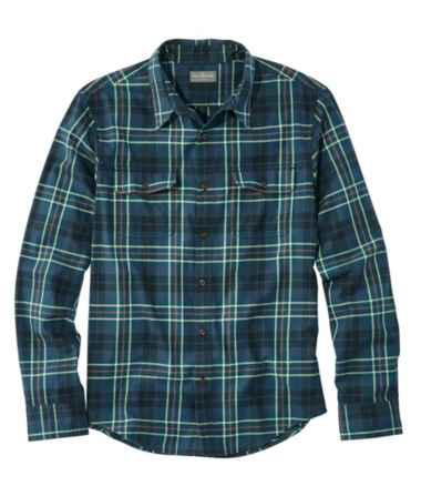 Men's Signature Castine Flannel Shirt, Slim Fit, Plaid