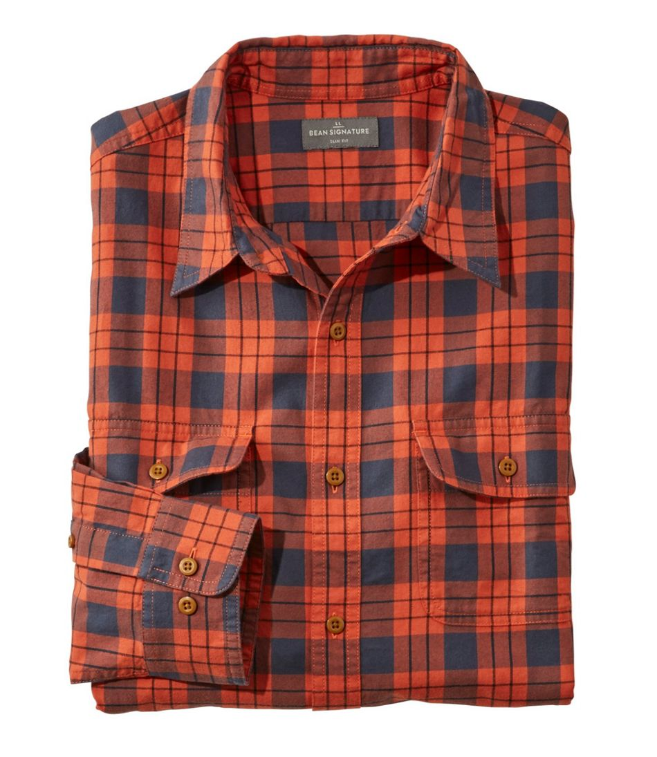 Signature Castine Flannel Shirt, Plaid