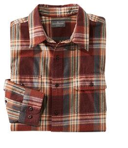 Men's Signature Castine Flannel Shirt, Plaid