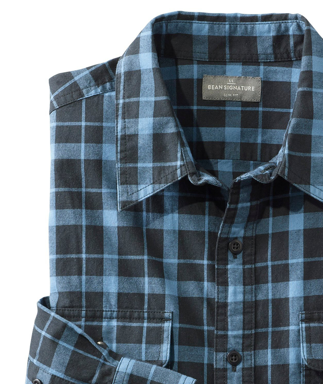 Signature Castine Flannel Shirt, Plaid by L.L.Bean