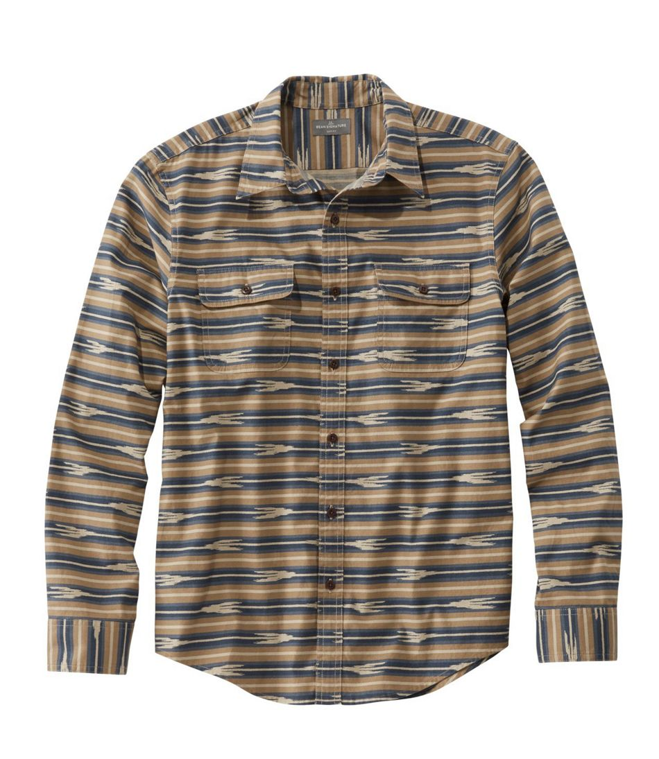Signature Castine Flannel Shirt, Stripe