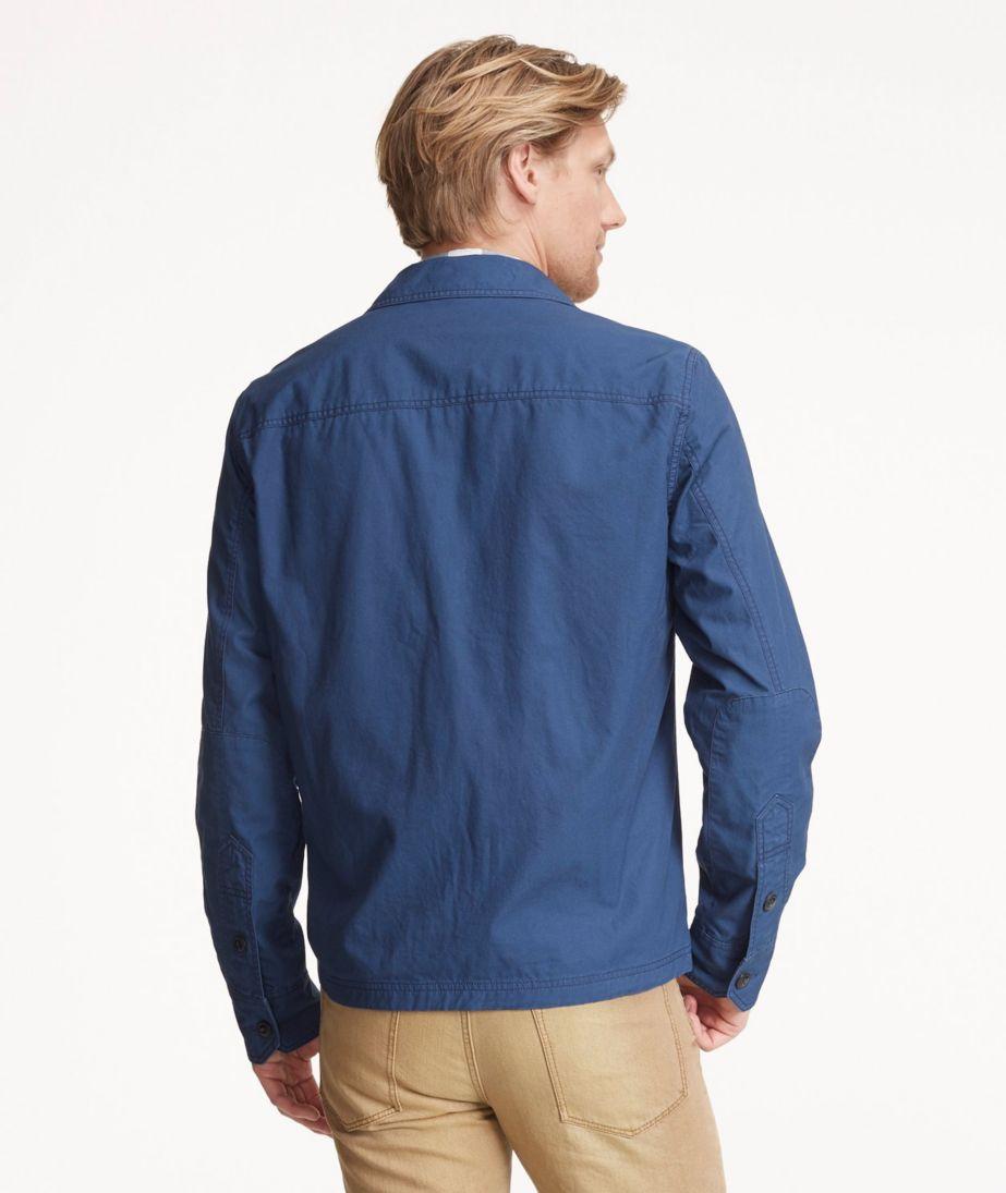 Signature Full-Zip Shirt Jacket
