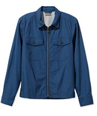 Men's Signature Full-Zip Shirt Jacket
