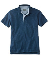 Signature Textured Knit Polo, Short-Sleeve
