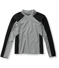 Boys' Sun-and-Surf Shirt, Long-Sleeve Colorblock