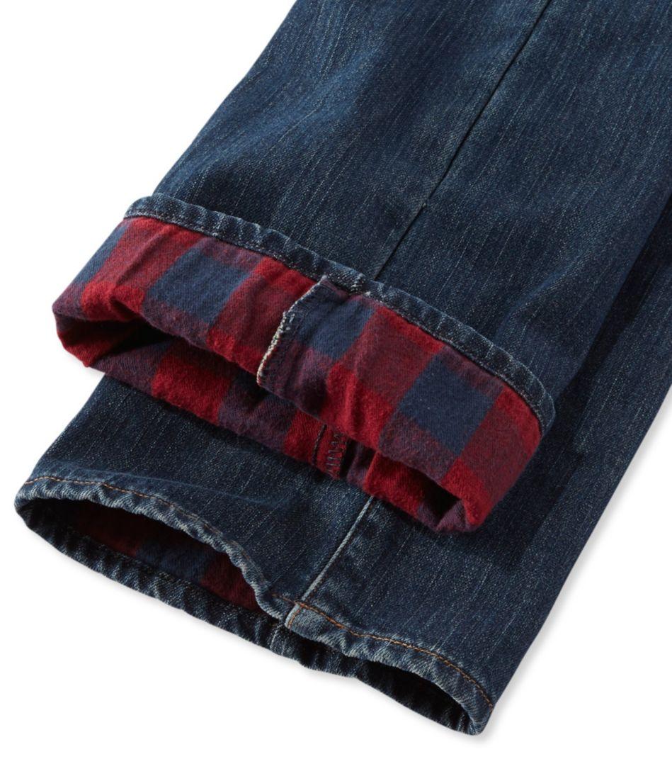 L.L.Bean 1912 Jeans, Classic Fit Straight-Leg Lined