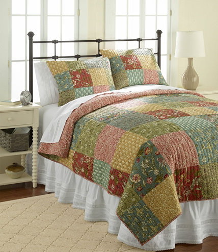 Floral Patchwork Quilt Collection