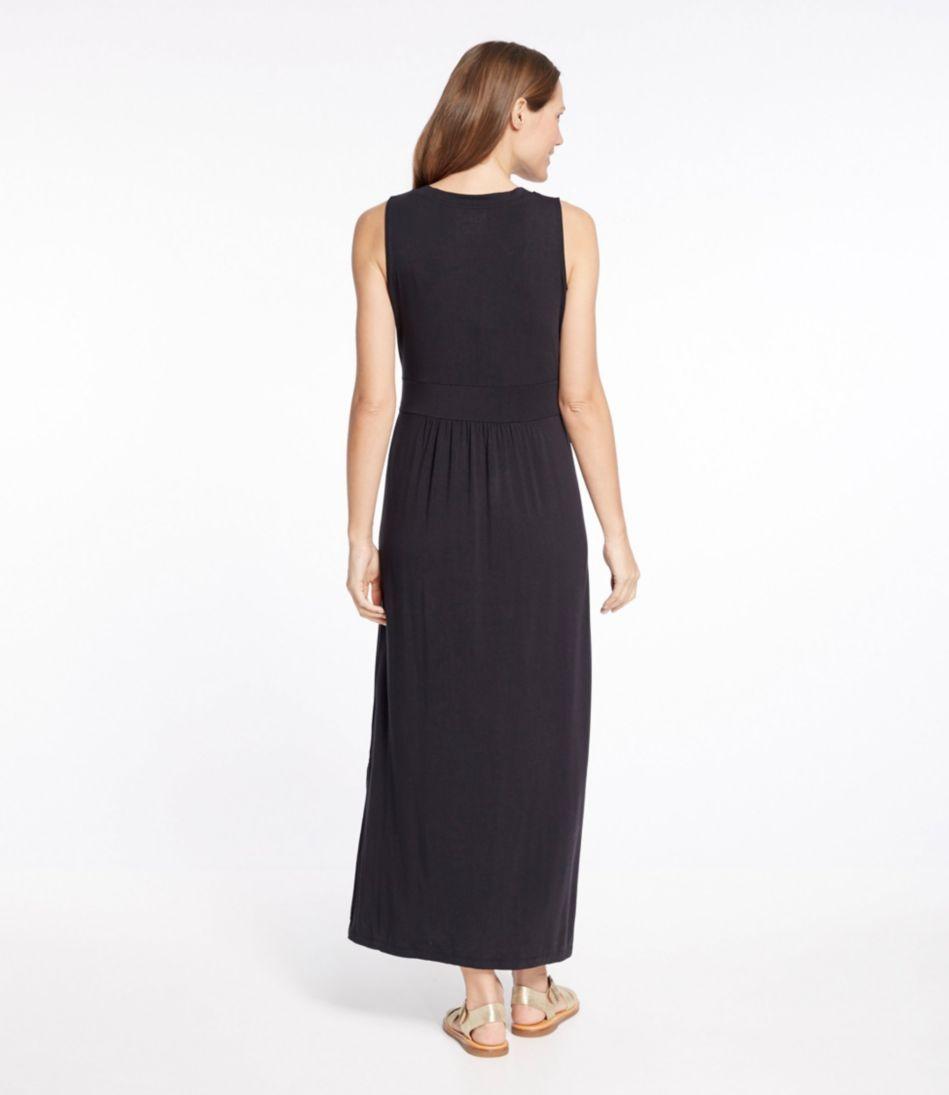Summer Knit Maxi Dress