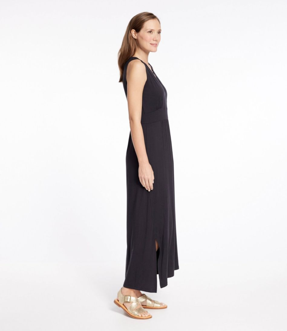 Summer Knit Maxi Dress