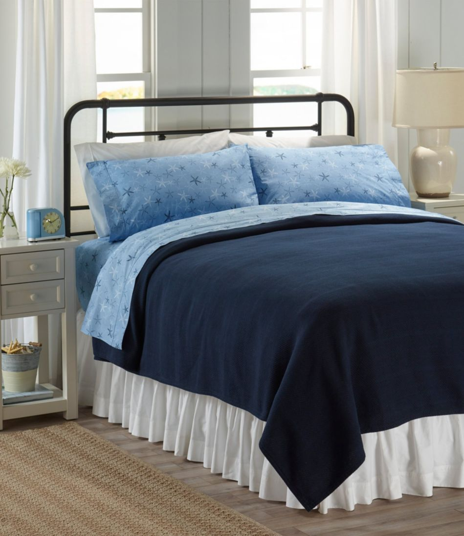 Starfish Percale Sheet Collection
