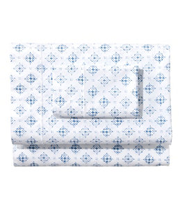 Premium Egyptian Percale Sheet Collection, Print