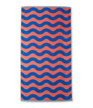 Seaside Beach Towel, Wave