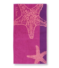 Seaside Beach Towel, Starfish