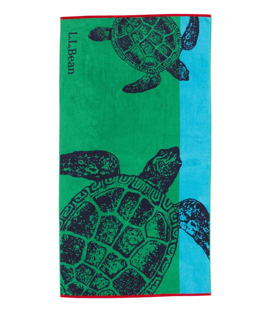 Seaside Beach Towel Turtles