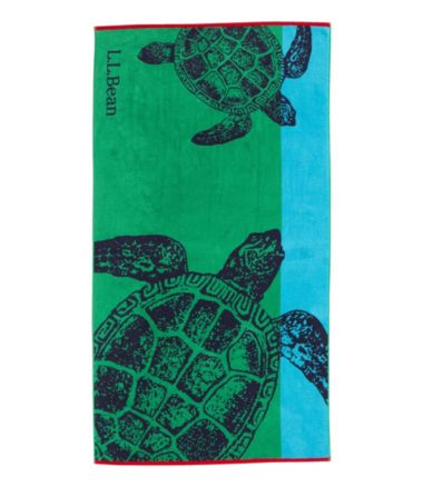 Seaside Beach Towel, Turtles