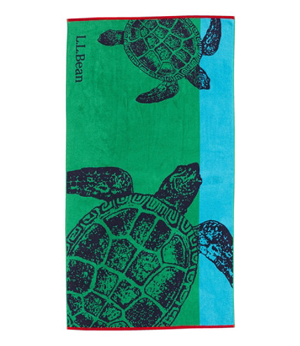 Seaside Beach Towel Turtles