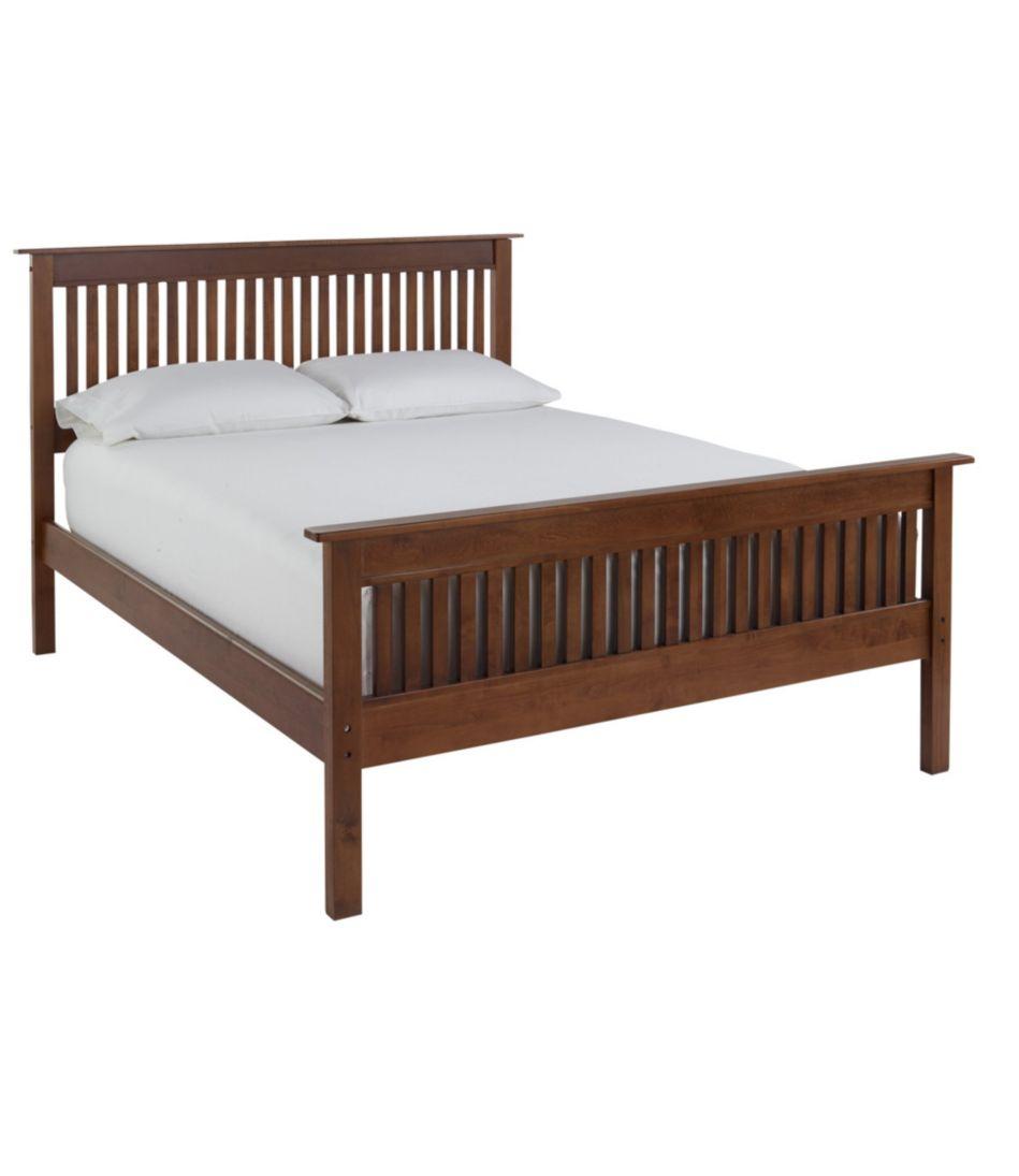 Wooden Slat Bed