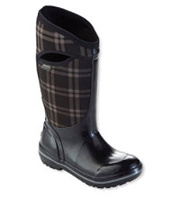 Women's Bogs Plimsoll Boots, Tall Plaid
