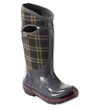 Women's Bogs Plimsoll Boots, Tall Plaid