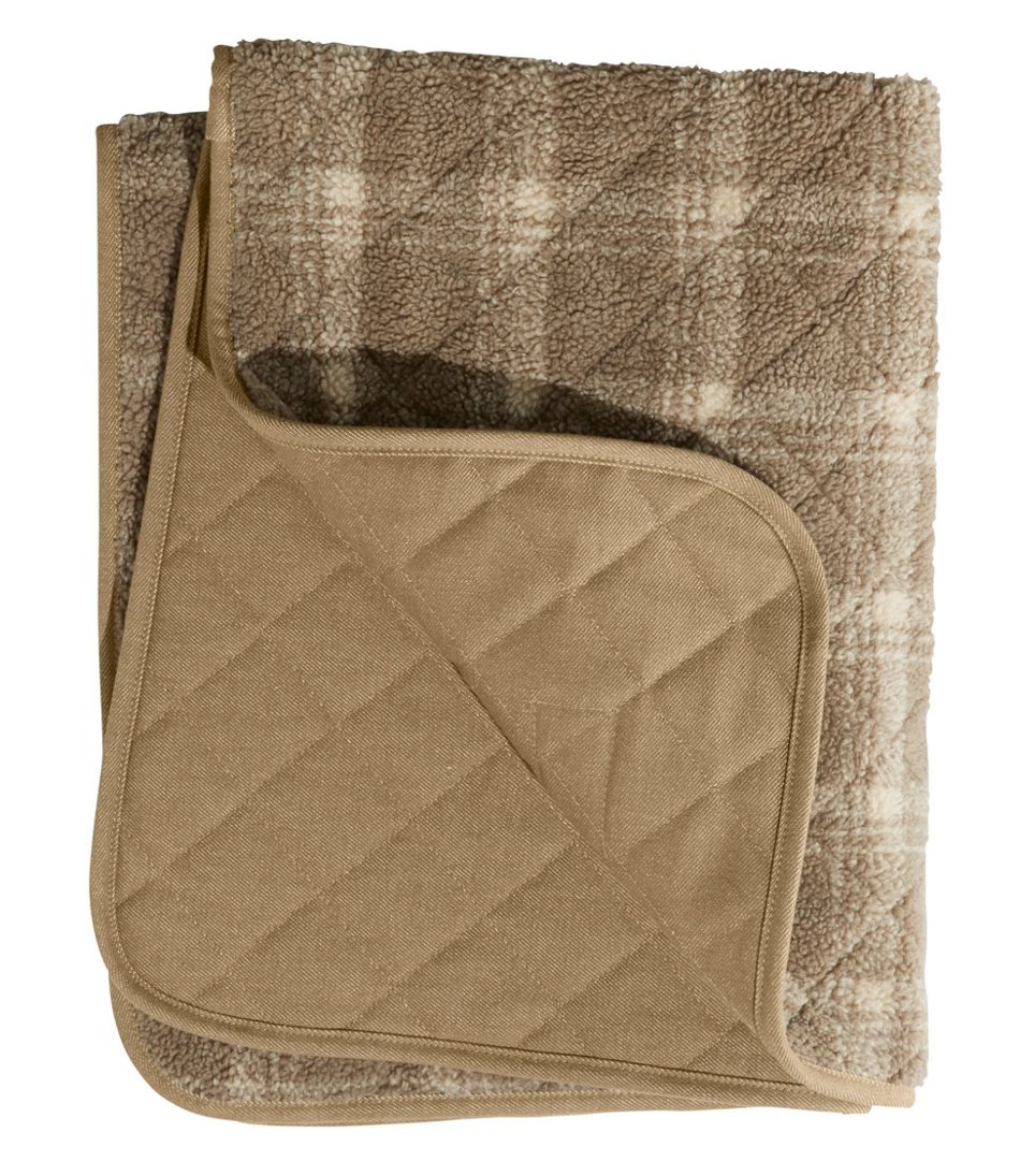 Rugged Quilted Dog Blanket