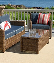 Outdoor Wicker Patio Arm Chair