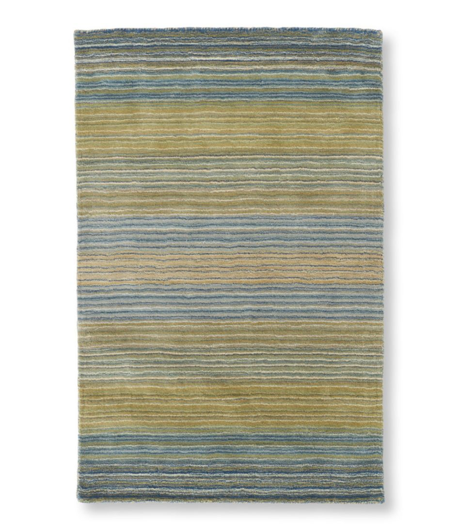 Wool Tufted Rug Stripe