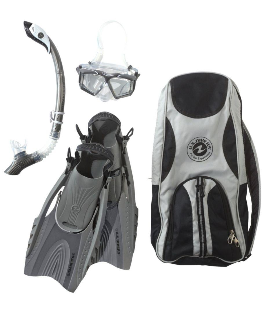Adults' US Divers Snorkeling Set