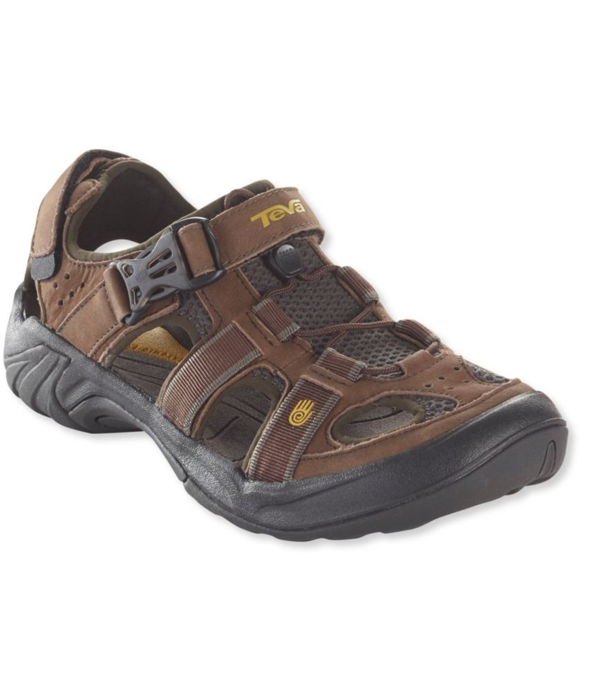 photo: Teva Men's Omnium Leather sport sandal