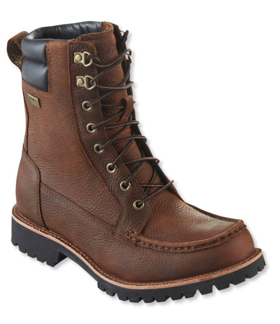 Sawduster Waterproof Work Boot, Moc-Toe
