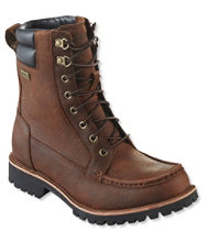 Sawduster Waterproof Work Boot, Moc-Toe