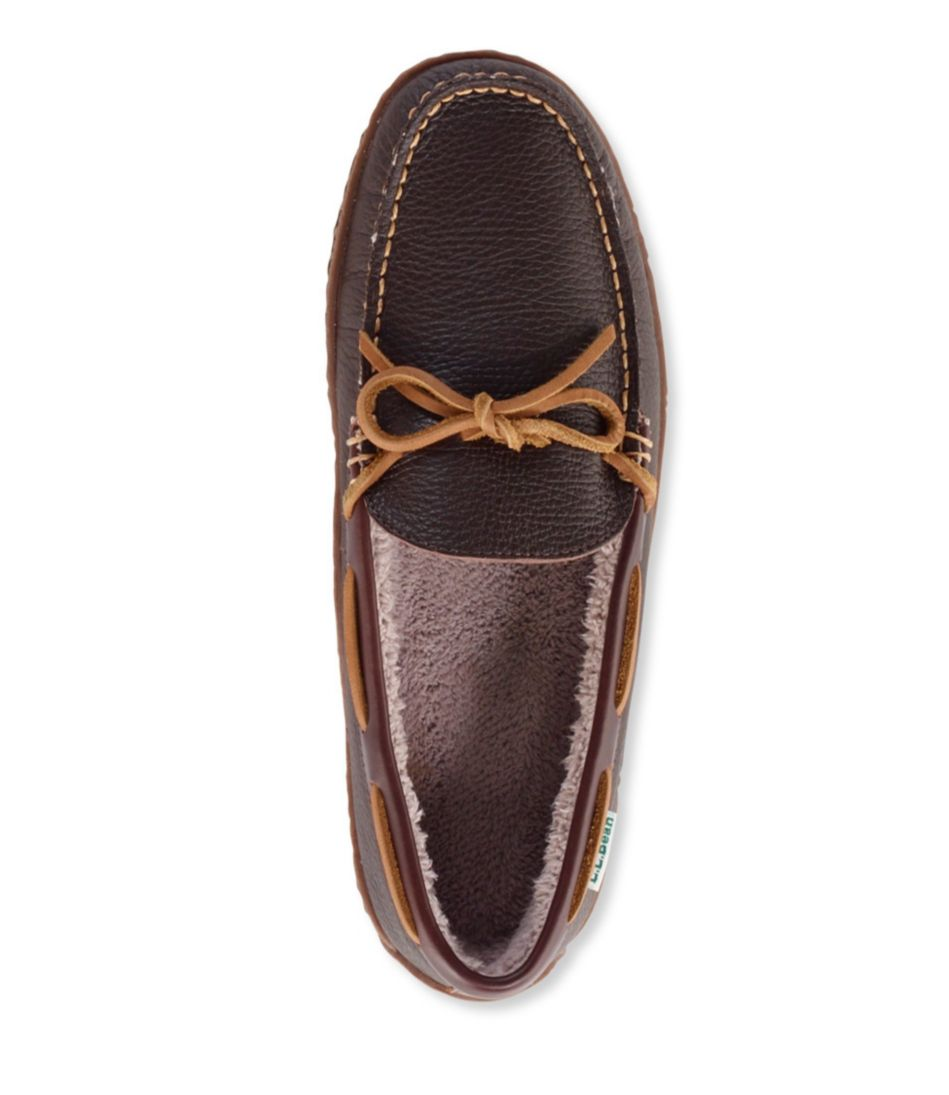 Handsewn Slippers II, Fleece-Lined